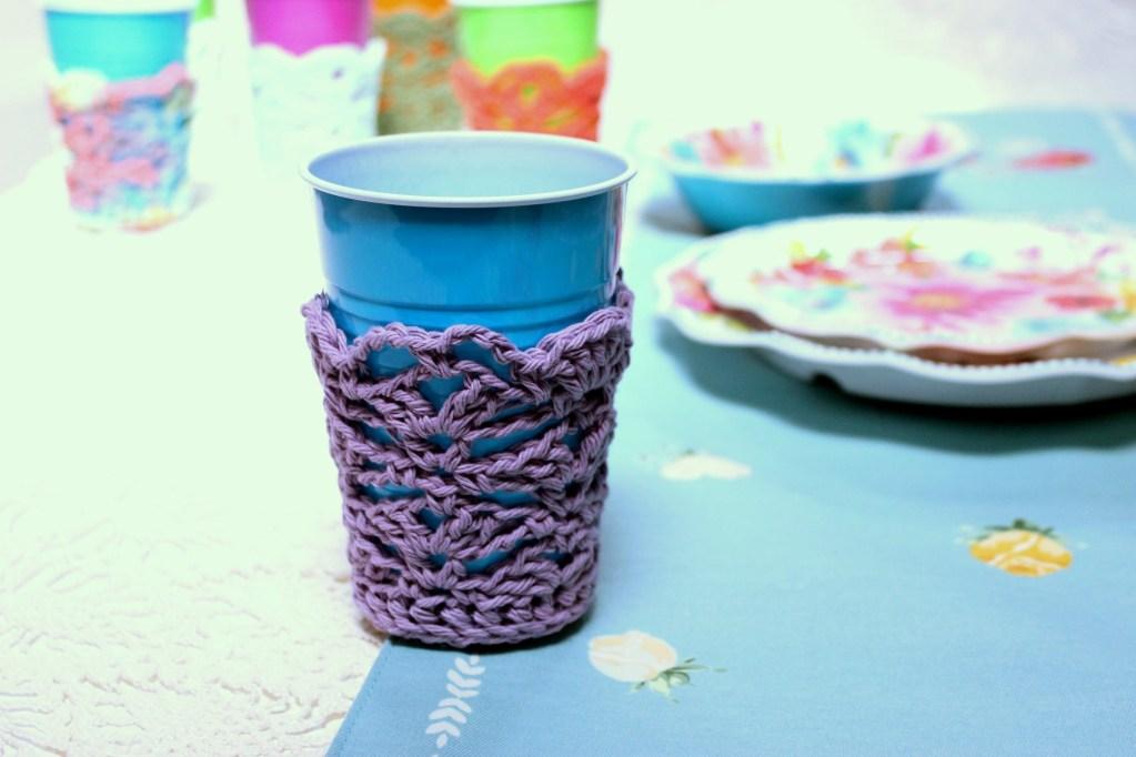 Solo Cup Cozy Crochet Pattern