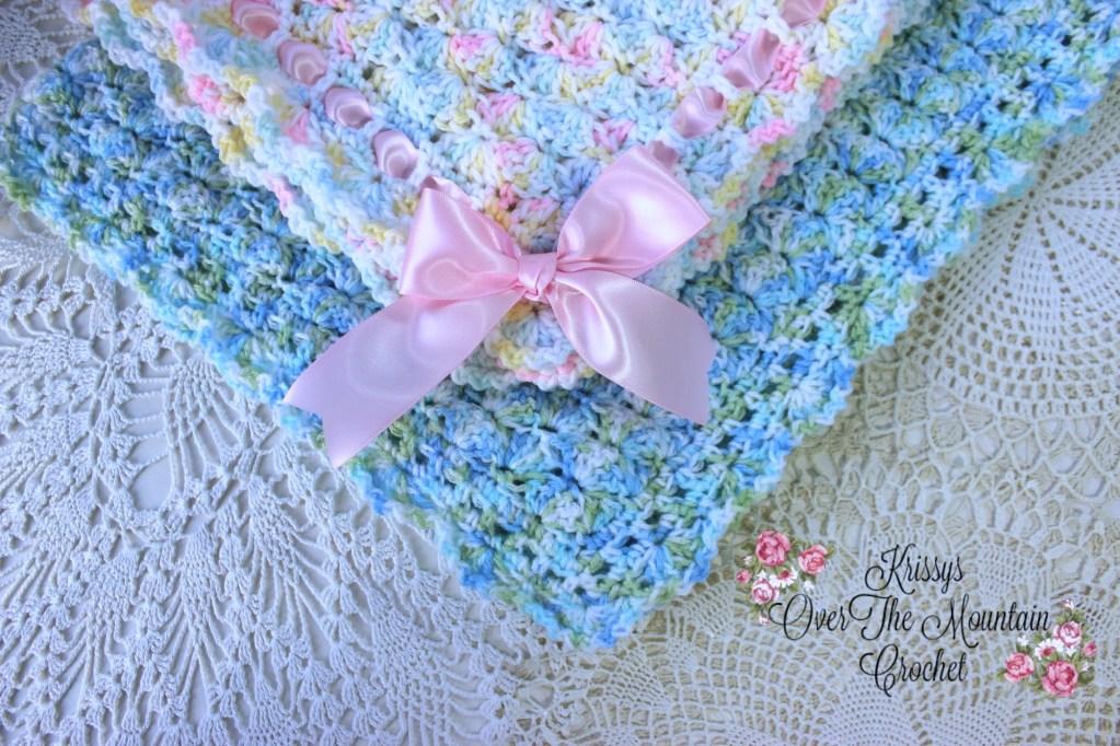 Simple Shells Baby Blanket