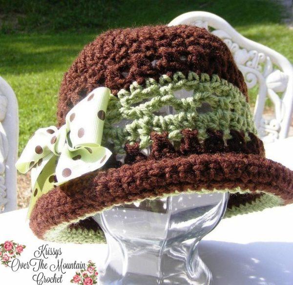 Earflap Hat With Rolled Brim - Toddler Child's Women's Crochet Winter Headgear. Free Crochet Pattern