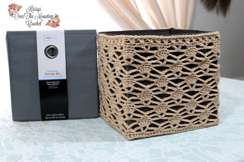 Candle Light Lace Cube Cover