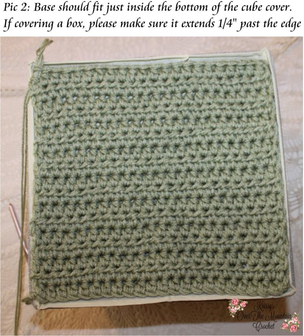 DIY Collapsible Storage Cubes - Lace Cover Crochet Pattern - Candle Light Stitch