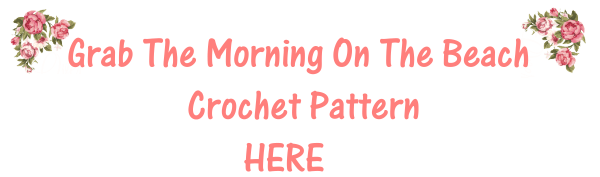 Purchase the crochet pattern for the Morning On The Beach Crochet pattern right here. It includes plus sizes, row by row charts and video support.