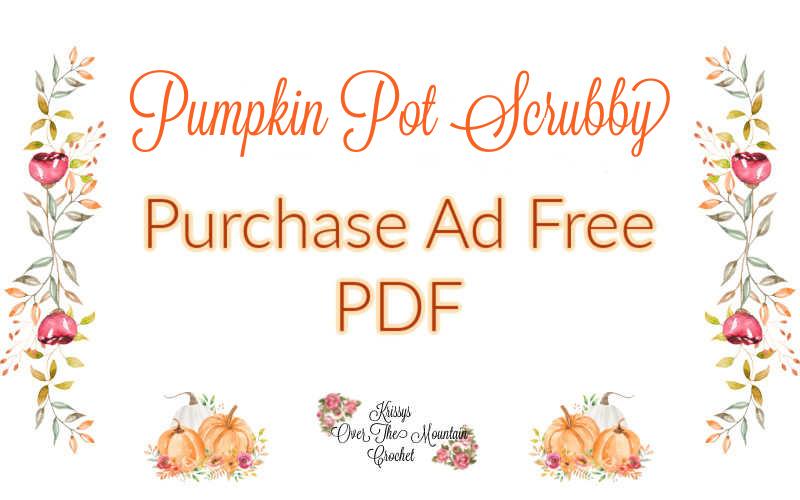 Pumpkin Pot scrubber