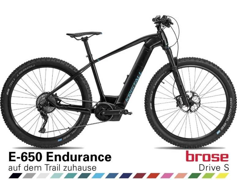 Auswahl KRISTALL E-650 Endurance