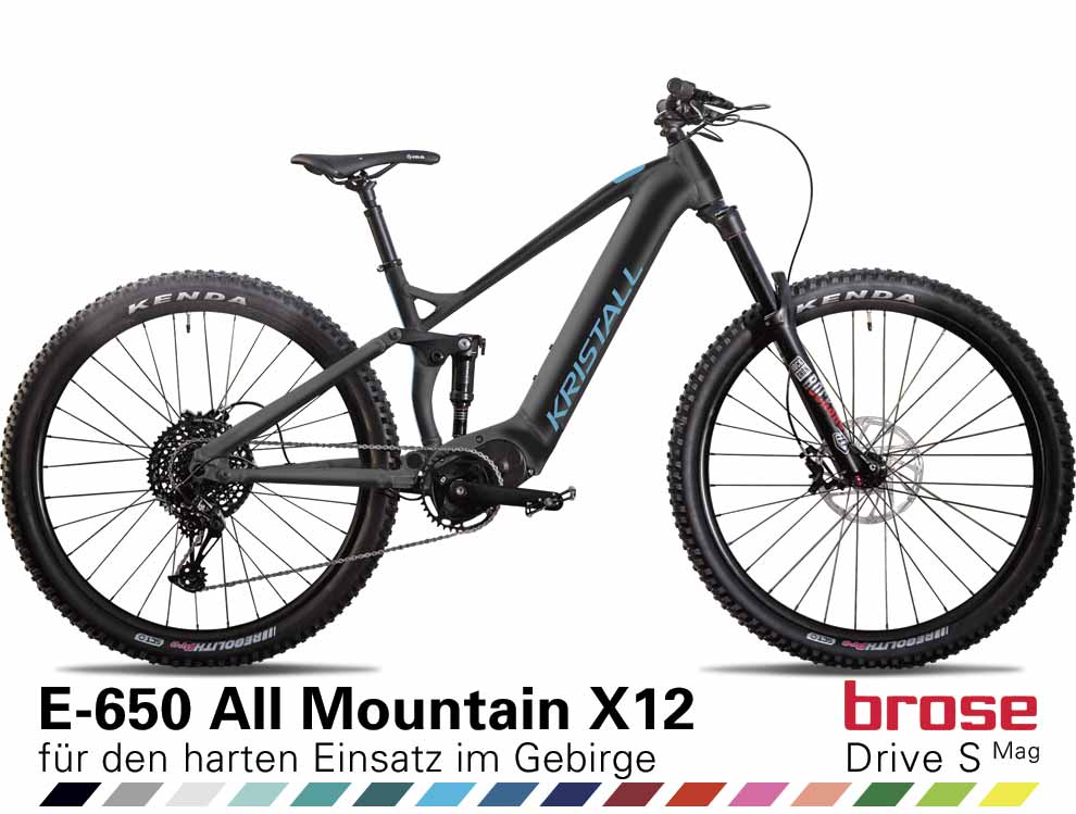 Auswahl KRISTALL E-650 All Mountain X12
