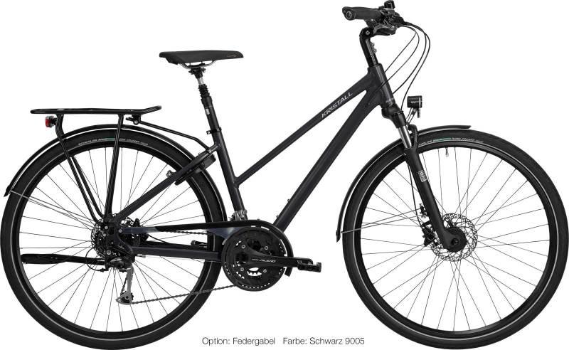 Abb. KRISTALL Trekking Sport Fahrrad mit Trapez Geometrie