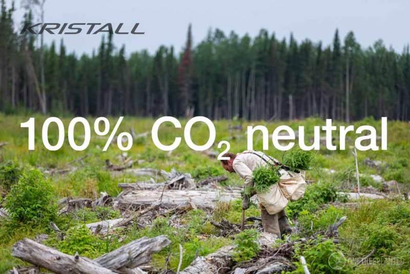 KRISTALL – Unser Vorsatz: 100% CO2 neutral