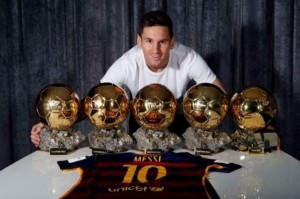messi display