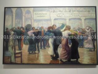 Verkäuferinnenball Tanzsaal Edengarten Friesenplatz Heinz Kroh 1914