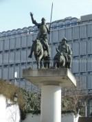 Don Quichotte &Sancho Pansa