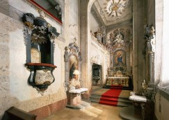 Palace chapel, decorated over several centuries