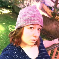 The first knitting (vs crochet) I'd done in ages, and my favourite winter beanie