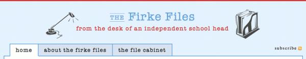 The Firke Files Header