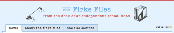 The Firke Files Header
