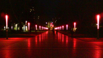 "UNSW Pink for October ""Global Illumination"""