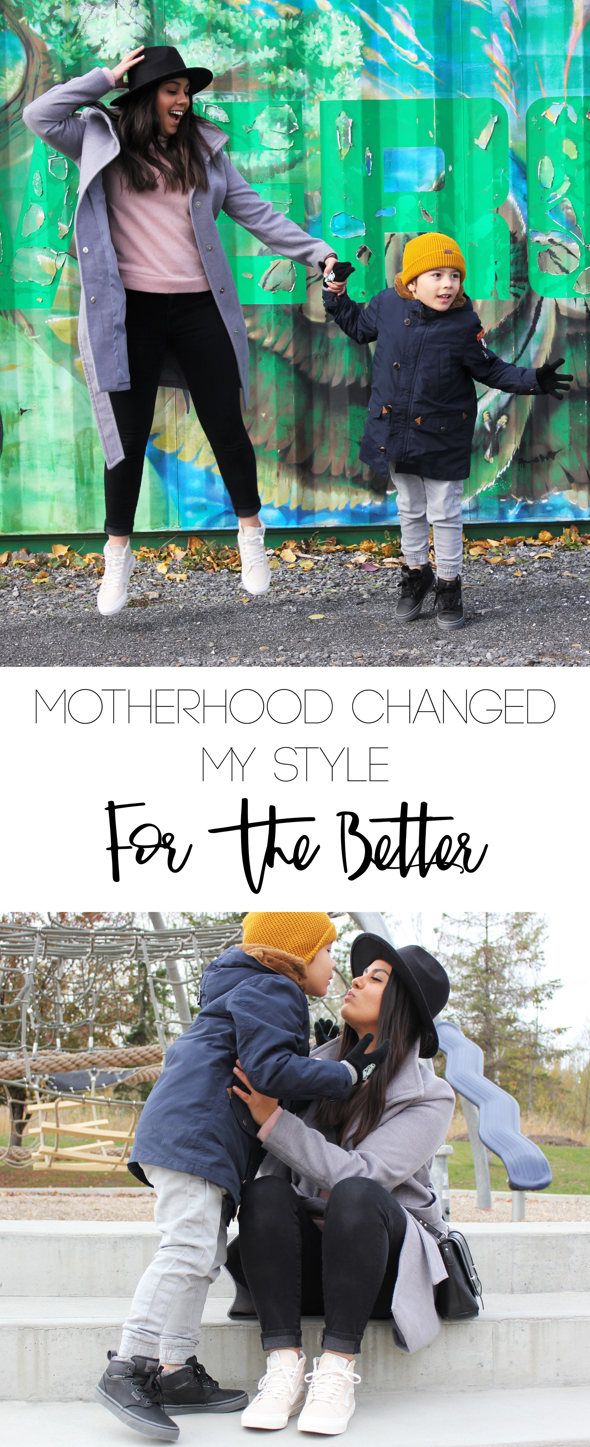 Motherhood Changed My Style- For the better! Styling my Vans shoes from Union Jack Boots