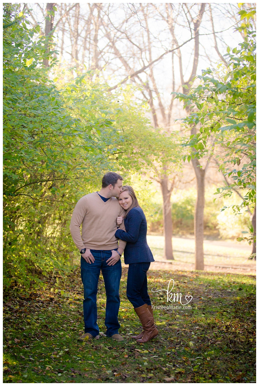 Katlyn  Deerl  Indianapolis Fall Engagement Photography