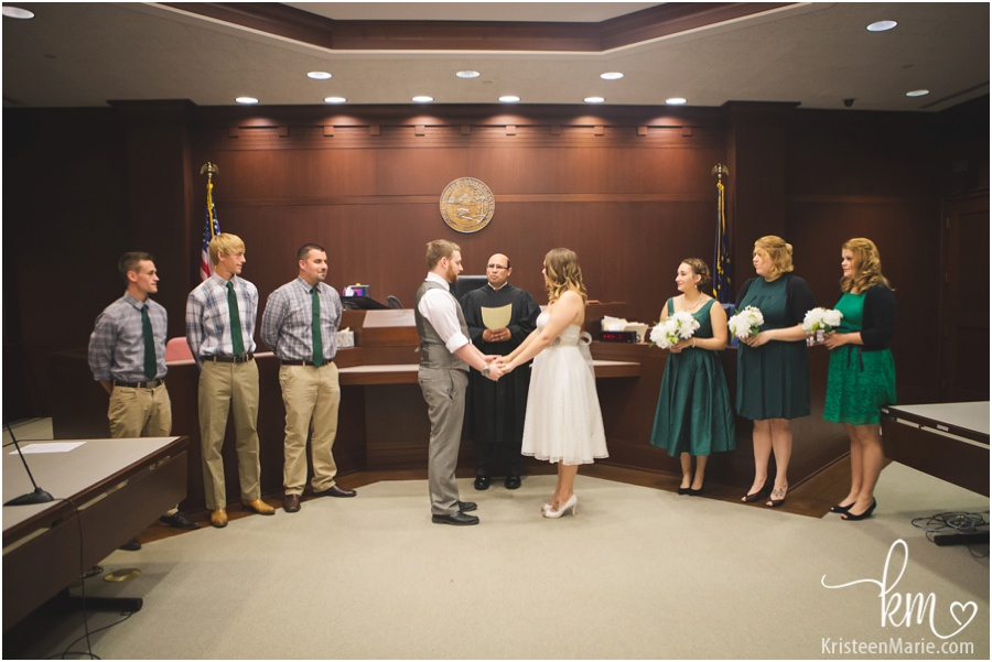 Courthouse Wedding in Noblesville Indy Wedding Photographer