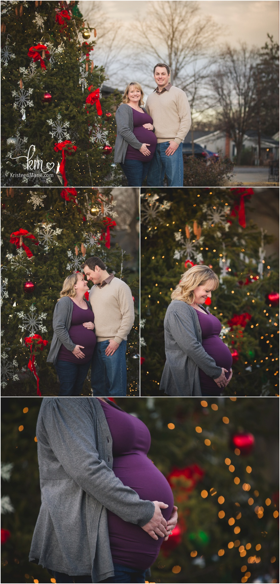 Maternity Session In Downtown Zionsville Indiana