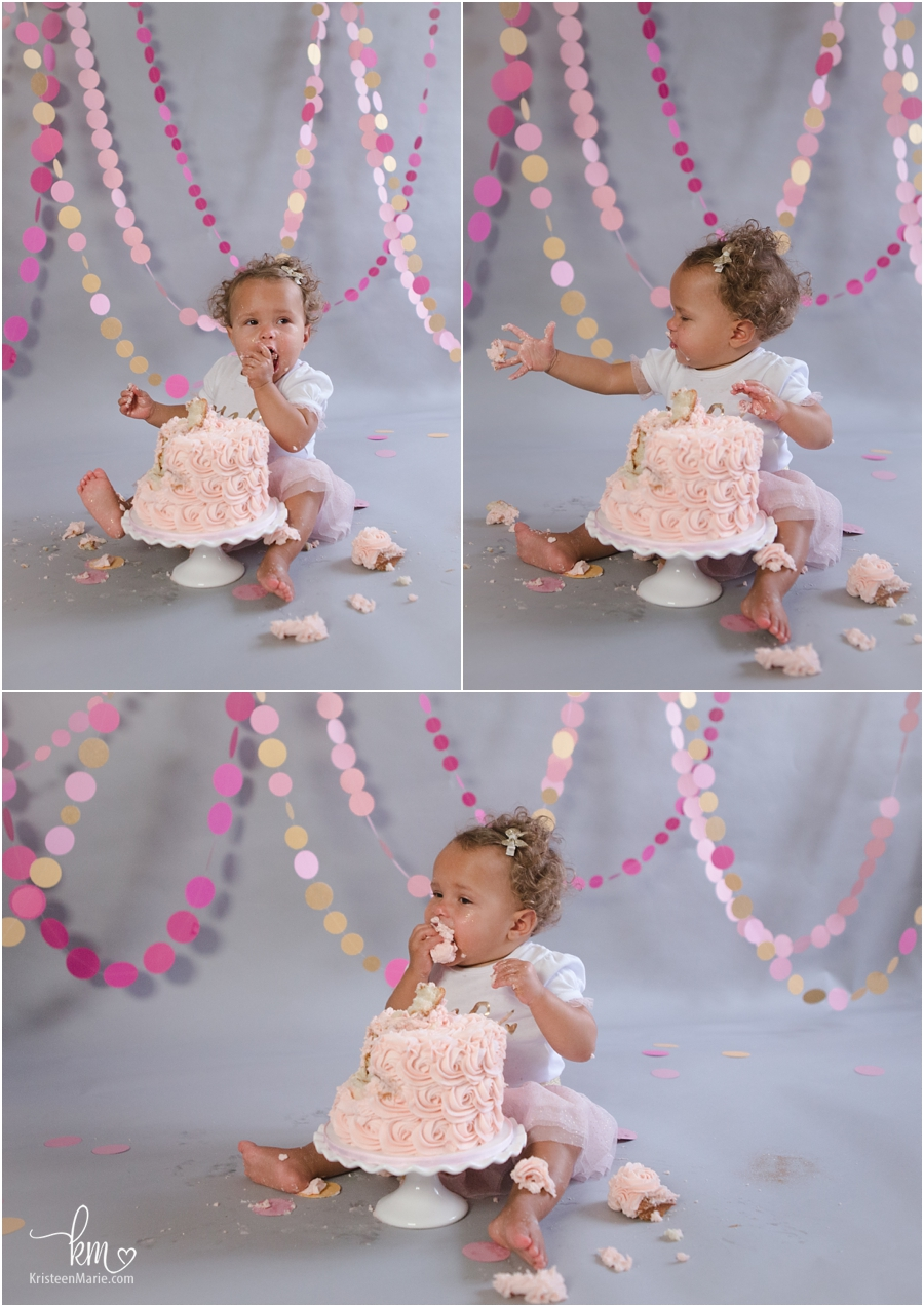 Cake Smash Amp First Birthday Photography Kristeenmarie