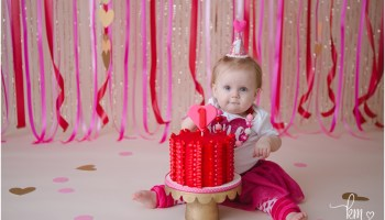 Dr Seuss 1st Birthday Cake Smash Photography By Kristeenmarie