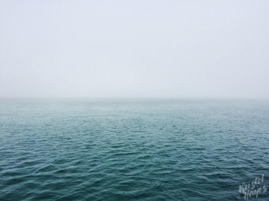 Isle of Staffa: Foggy Boat Ride
