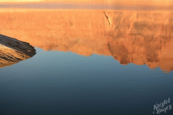 Lake Powel: Distant Reflections
