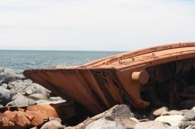 Monhegan Island: DT Sheridan Wreckage