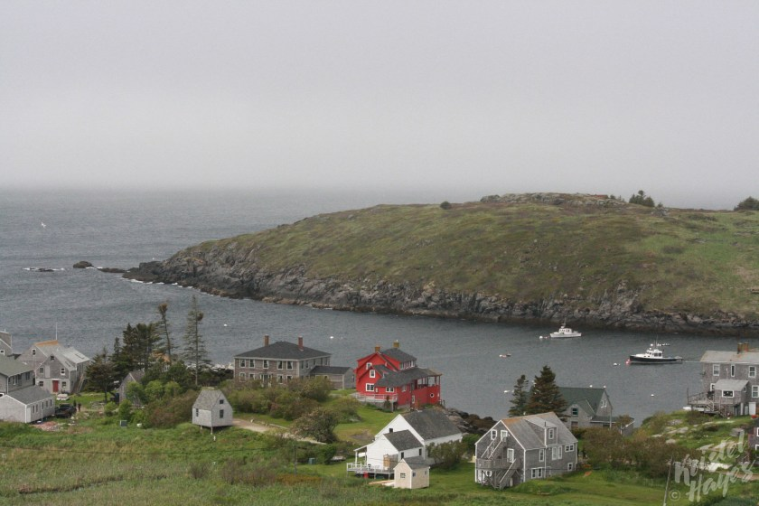 Monhegan Island: View from the Cemetary