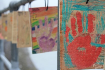 Oban: Handprint Close Up