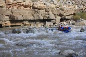 San Juan River: Scot & Rich at Government Rapid