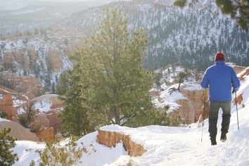 Bryce Canyon: Heading Down Queens Garden Trail