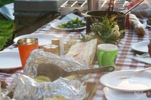 Family Dinner Allagash River
