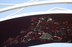Bridging Panel 3, Futuristic Carlow-Town Park Art Installation-River Barrow, Ireland