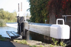 Carlow Lock Gate-River Barrow, Ireland