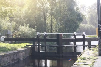 Carlow Lock-River Barrow, Ireland