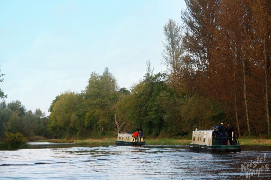 Cruising the Barrow River, Ireland