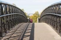 Foot Bridge, Carlow-River Barrow, Ireland