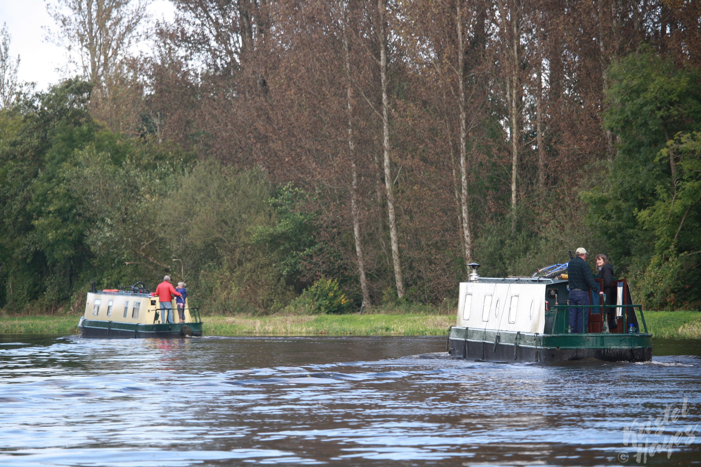 River Barrow Narrow Boats, Ireland