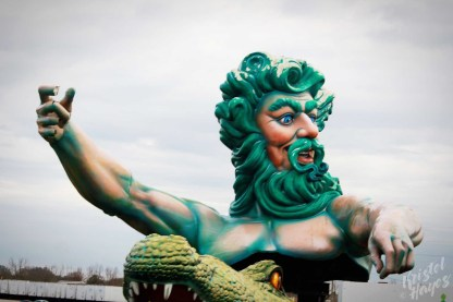 NOLA | Mardi Gras World | Poseidon of the Swamp