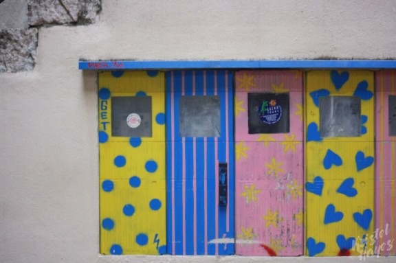 Colorful Mailboxes, Split Croatia