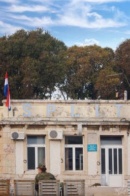 Train Station, Split Croatia
