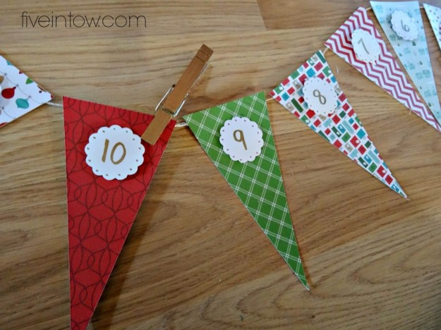 Make an advent calendar