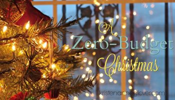 a zero budget christmas a little perspective