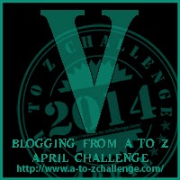 V is for Voice (Writer's) #atozchallenge