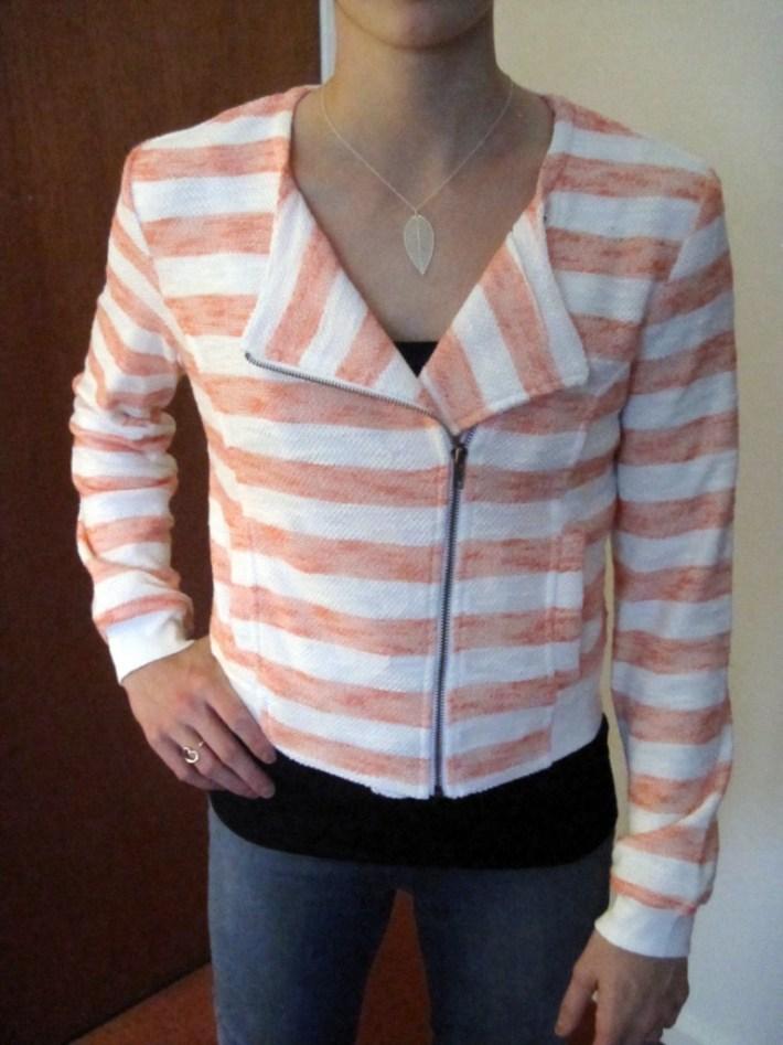 Rimini Striped Knit Jacket
