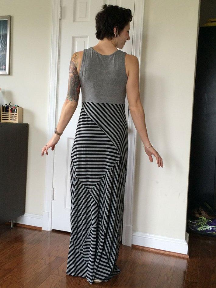 Mystree Ben Maxi Dress (back)