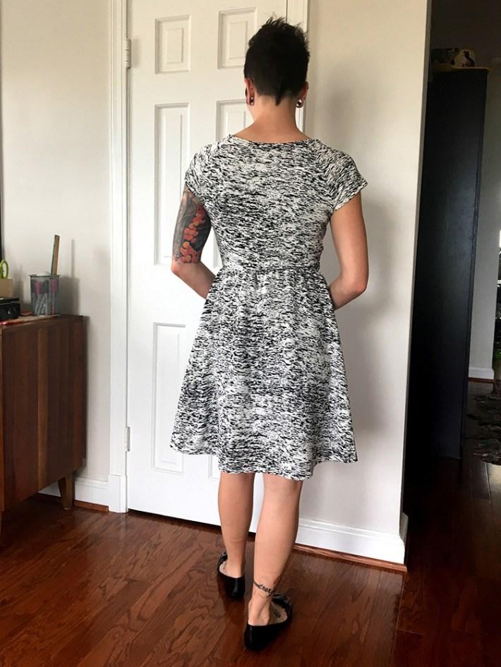 Renee C Addae Knit Dress (back)