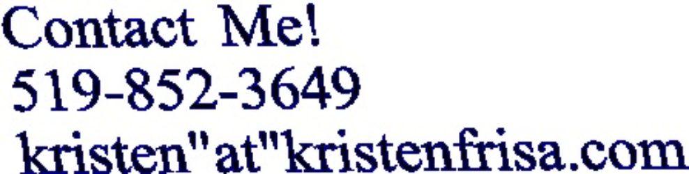 Kristen Frisa