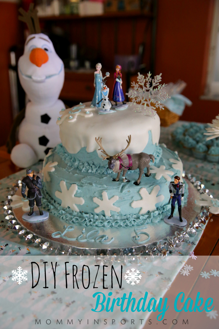 Diy Frozen Birthday Cake